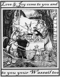 Image result for graphics for Christmas wassailing