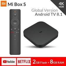<b>Original Global</b> Version <b>Xiaomi Mi</b> TV Box S 4K Android 8.1 Ultra HD ...