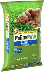 Feline Pine <b>Original</b> Unscented Non-Clumping <b>Wood Cat</b> Litter, 20 ...