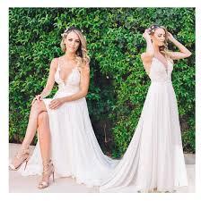 <b>LORIE Beach Wedding Dresses</b> Spaghetti Straps 2019 Robe de ...