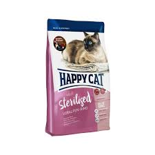 Happy Cat - <b>Adult</b> Sterilised - Voralpen-<b>Rind</b> (Beef)