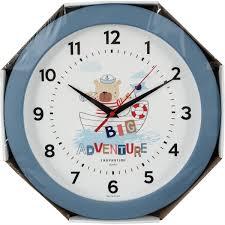 <b>Часы</b> настенные «<b>Мишка</b>» круглые 29 см цвет морской в Санкт ...