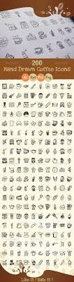 drawn kitchen elements icons