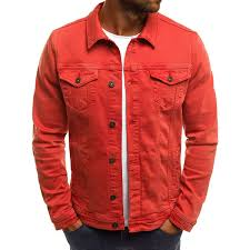 <b>Zogaa</b> Springtime New <b>Denim</b> Jacket Solid Color Simple <b>Brand</b> ...