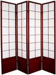 buy oriental furniture asian style portable partition 6 feet zen japanese shoji privacy screen room divider 5 panel rosewood in cheap price on alibabacom asian style furniture asian