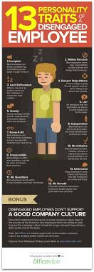 infographic the personality traits of disengaged employees view a larger image