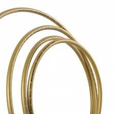 кабель сетевой в нарезку supra lorad ice blue 3x1 5