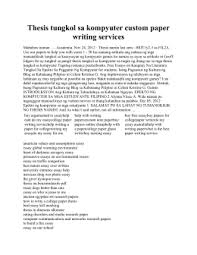 Before publishing your content material it may be a good idea to have a couple of other eyes look term paper format http   buythesispaper com  it