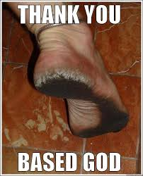 disgusting foot - quickmeme via Relatably.com