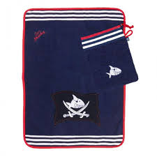 <b>Полотенце</b> с варежкой Capt'n Sharky <b>Spiegelburg</b> — купить в ...
