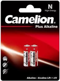 Купить <b>батарейку Camelion</b> Plus Alkaline N (<b>LR1</b>) BL-2, 2 шт. по ...