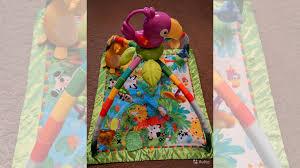 развивающий коврик mattel fisher price bmh49
