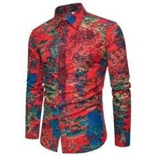 <b>LONMMY</b> PLUS SIZE <b>M</b>-<b>7XL</b> Floral <b>mens</b> silk shirt Mercerized cotton ...