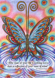 <b>State Of Mind BUTTERFLY</b> ART PRINT 8 x 10 by by BijousWhimsy ...