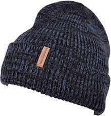 New Balance <b>Oversized Watchman's Beanie</b> Knit <b>Hat</b> Orion Blue ...