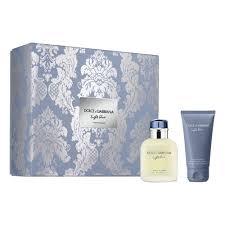 Подарочный <b>набор DOLCE&GABBANA Light Blue</b> Pour Homme ...