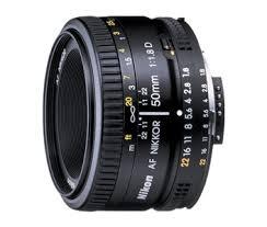 <b>AF Nikkor 50mm f/1.8D</b> | <b>Nikon</b> FX lenses