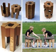diy cardboard chair designs cardboard furniture design
