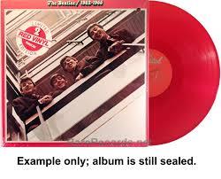 <b>Beatles</b> – <b>1962-1966</b> sealed 1978 red vinyl <b>2</b> LP set