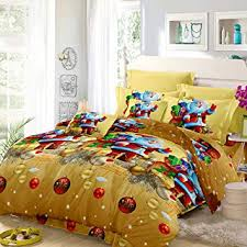 Anself 3D Printed <b>Christmas Bedding</b> Sets Duvet Cover + <b>2pcs</b>…