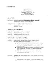 resume sample for educational background administration resume format and samples best sample resume resume sample teaching education in resume sample
