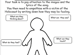Developing Empathy Worksheet by Daisy May      Teaching Resources     Help with writing essays for scholarships ESOL Form filling