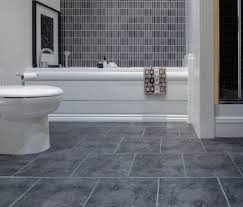 good white mosaic bathroom floor tile ideas