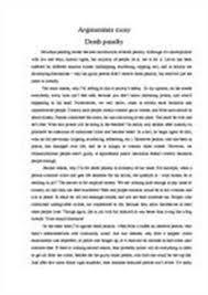 for the death penalty essay  www gxart orgpro death penalty essays tumokathok resume the highlifedeath penalty persuasive essay shannon rafferty e portfolio