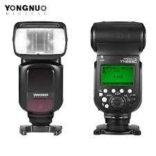yongnuo yn968n wireless flash speedlite equipped with led light yn968 ttl for nikon dslr camera fit yn622n yn560 tx rf603