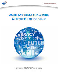 High Stakes Testing   Notes from a Boy   The Window Notes from a Boy   The Window America     s Skills Challenge  Millennials and the Future  cover   February