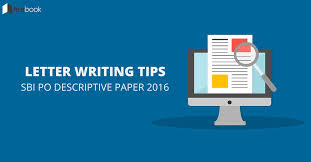 letter writing tips for sbi po descriptive paper   testbook blog
