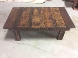 <b>Solid reclaimed</b> wood rustic <b>coffee table</b>