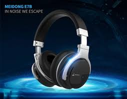 Original Meidong E7B <b>Active Noise</b> Cancelling Bluetooth ...