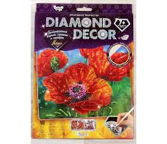 <b>Danko</b> Toys Алмазная аппликация Diamond Decor Маки с ...