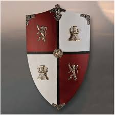 Add Historic Splendor to your Décor with Beautiful Medieval Shields