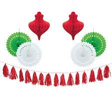 <b>Christmas</b> Tissue <b>Paper Decorations Kit</b>, 7pc - Walmart.com