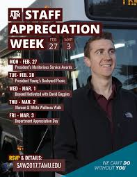 printable flyers staff appreciation week texas a m university printable flyers pdf