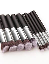 Professional <b>Makeup Brushes 10pcs</b> Soft New Design Full ...
