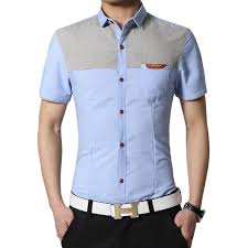 <b>Men's Summer Business</b> Shirt Short Sleeves Shirt Men Shirts Male ...