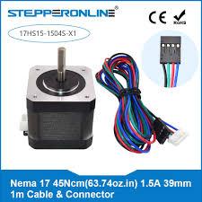 <b>Free Ship</b>! 1PC 4 lead <b>Nema</b> 17 Stepper Motor 1.5A (17HS4401 ...