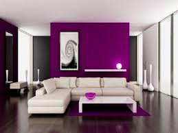 Purple Living Room Curtains Purple And White Living Room Design House Decor