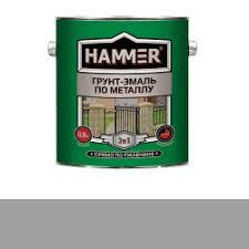 Отзывы о <b>Грунт</b>-<b>эмаль по металлу Hammer</b>