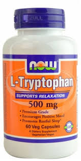 NOW Foods L-Tryptophan 500mg Veg Capsules, 60 ct - Food 4 Less