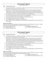 farewell message how to write a farewell message templates tips farewell speech samples 02