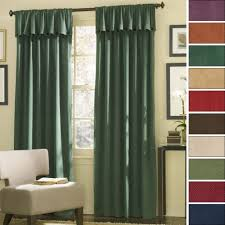door treatment separate roman blinds light
