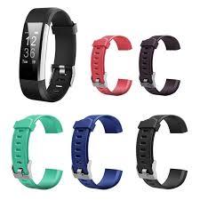 VODOOL 215x20mm Silicone Sport Wrist Strap <b>Bracelet Watch</b> ...