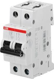 ABB S202 <b>Автоматический выключатель 2P 10А</b> (С) 6kA