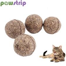 <b>pawstrip 1pc</b> Catnip <b>Cat Toys</b> Diameter 3cm Catnip Ball Safety ...