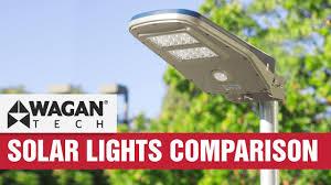 <b>Solar</b> LED Area Floodlight Comparison & Review - Motion Sensor ...