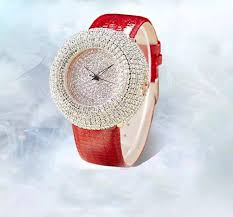 JBAILI Women Watches Big <b>Bling</b> White <b>Rhinestone New Fashion</b> ...